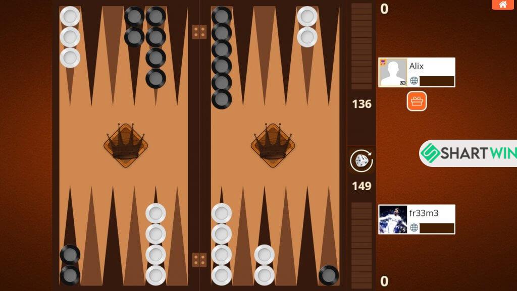 ساختار برد بازی تخته نرد